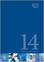 MIG Fonds 14 - Unterlagen kostenlos und unverbindlich anfordern