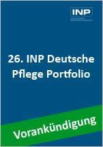 Vorankündigung: 26. INP Deutsche Pflege Portfolio - Jetzt vorreservieren