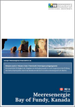 reconcept RE13 Meeresenergie - Bay of Fundy - Unterlagen zum Angebot kostenlos und unverbindlich anfordern