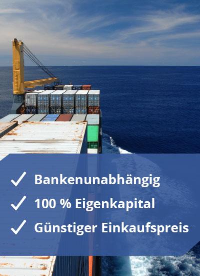Private Placement Schiffsbeteiligung - Vorteile im Überblick